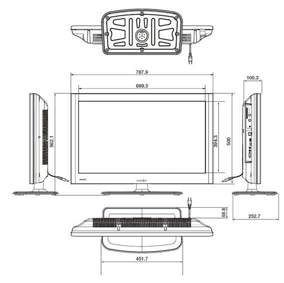 CTV32-C1外形図