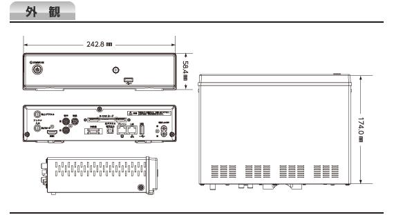 Covia CVR-501K 外観図
